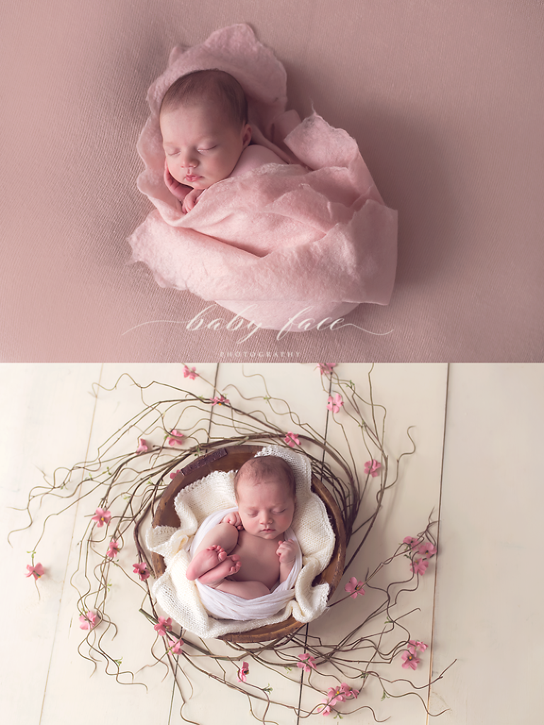 Newborn photography session omaha